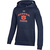 Under Armour Youth Auburn Tigers Blue All Day Pullover Hoodie