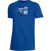 Under Armour Youth Georgia State  Panthers Royal Blue Performance Cotton T-Shirt
