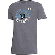 Under Armour Youth Johns Hopkins Blue Jays Grey Performance Cotton T-Shirt