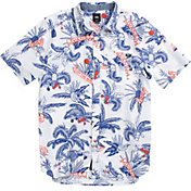 Vans Men's Market Print Woven Button Down Shirt