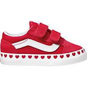 Vans Kids' Toddler Old Skool Heart Shoes