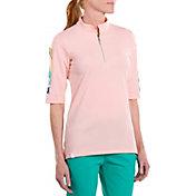 SwingDish Women's Neva Elbow Sleeve Golf Shirt