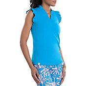 SwingDish Women's Serena Sleeveless Golf Shirt