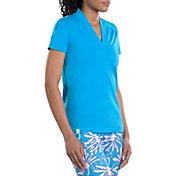 SwingDish Women's Caroline Short Sleeve Golf Shirt