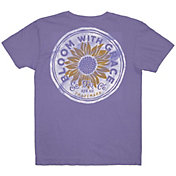 Southern Fried Cotton Girls' Bloom with Grace Short Sleeve Graphic T-Shirt