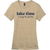 Up North Trading Company Women's Latte Lake Time Tee