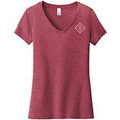 Up North Trading Company Women's V-Neck Short Sleeve T-Shirt