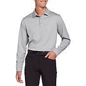 Walter Hagen Mens' Long Sleeve Golf Polo