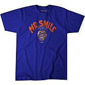 BreakingT Men's Mr. Smile Blue T-Shirt