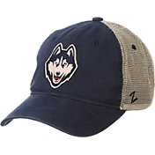 Zephyr Men's UConn Huskies Blue Hawthorne Adjustable Trucker Hat