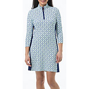 SanSoleil Women's SolStyle 3/4 Sleeve Golf Dress