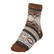 Northeast Outfitters Men's Cozy Cabin Aztec Stripe Slipper Socks