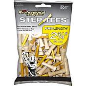 """Pride Sports 2.75"""" Step Golf Tees – 50-Pack"""