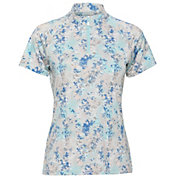 Sport Haley Women's Kona Watercolor Print Short Sleeve Golf Polo