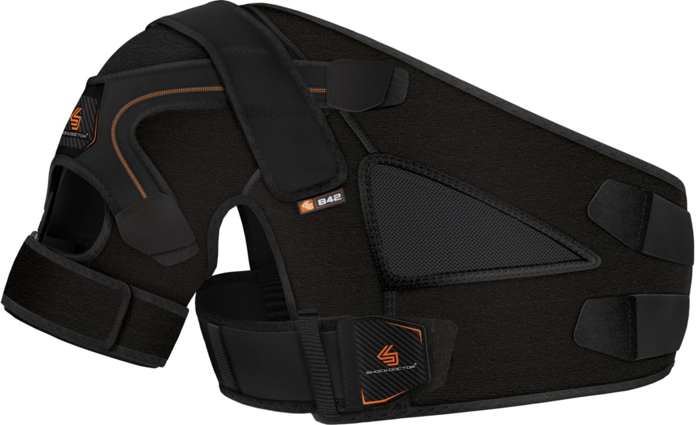 Shock Doctor Shoulder Support with Stability Control Strap System