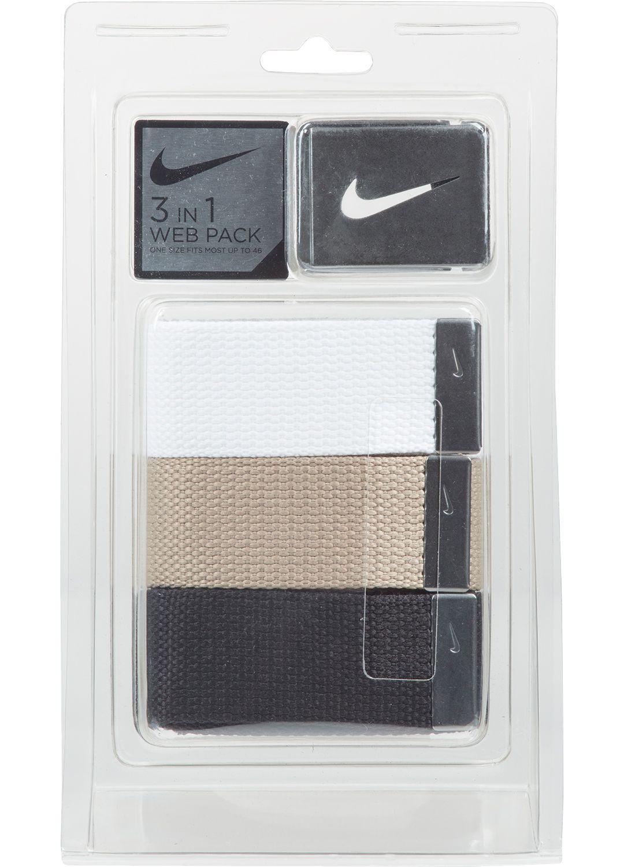 e2c7c31605 Nike Men's Web Golf Belt 3-Pack | DICK'S Sporting Goods