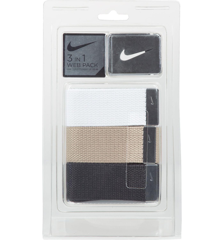 Nike Web Belts - 3 Pack