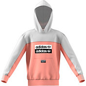 adidas Originals Boys' Logo Blocked Hoodie