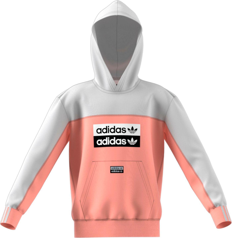 adidas Originals Boys' Logo Blocked Hoodie