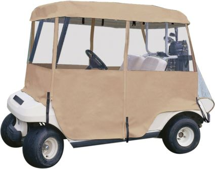 Classic Accessories Deluxe 4-Sided Golf Cart Enclosure