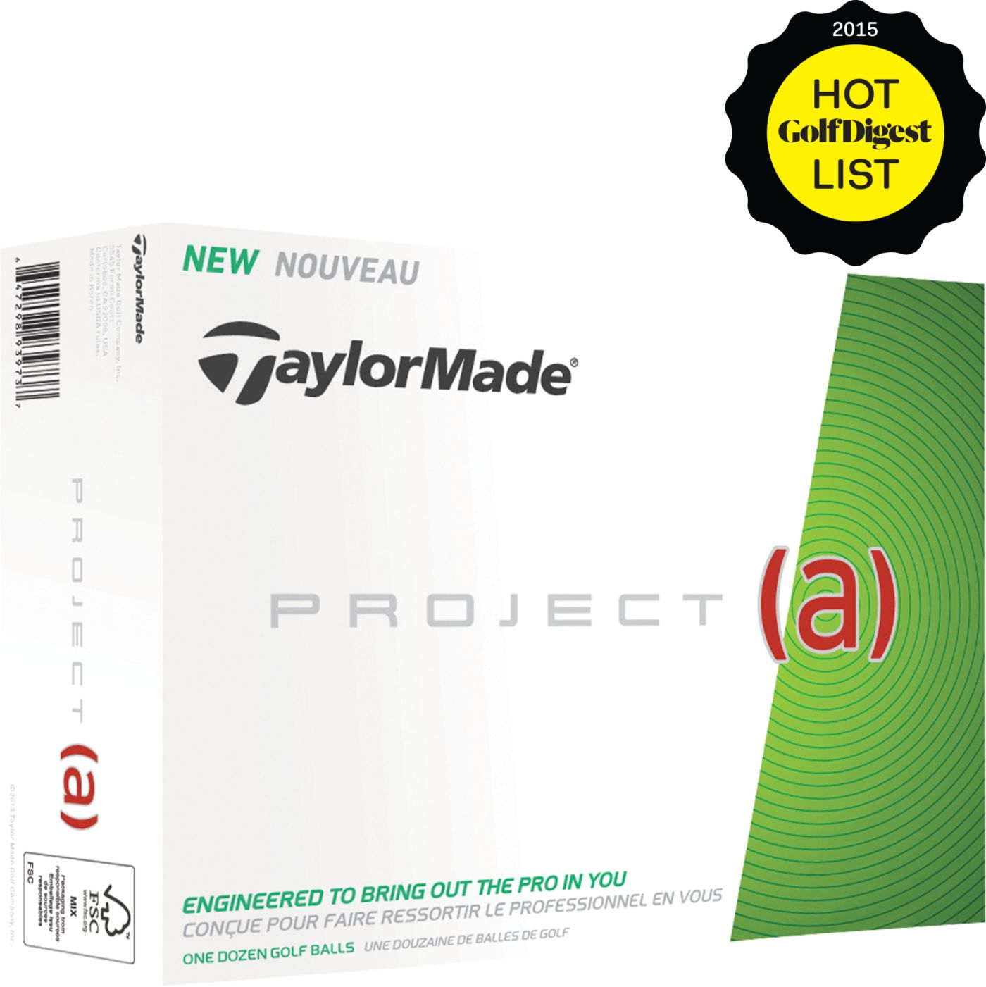 TaylorMade Project (a) Personalized Golf Balls