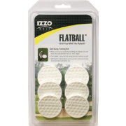 IZZO Flatball Golf Swing Training Aid - 6 Pack