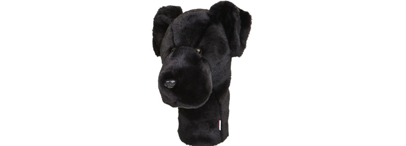 Daphne's Headcovers Black Lab Headcover