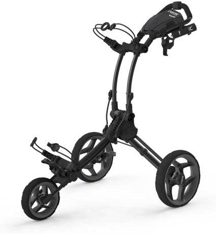Clicgear RV1C Push Cart   Golf Galaxy on electric three wheel, junior golf pull carts 3 wheel, push cart replacement wheel,