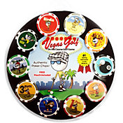 Vegas Golf Poker Chip On The Course Golf Game