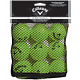 Callaway HX Lime Practice Balls - 9 Pack