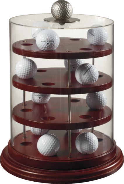 Maxfli Acrylic Cylinder 24 Ball Cabinet