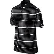 Nike Men's Key Bold Heather Stripe Golf Polo