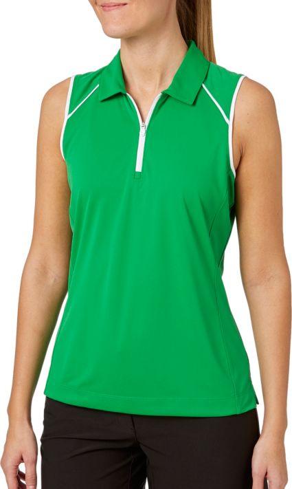 Slazenger Women's Tech Sleeveless Polo