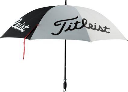 Titleist Single Canopy Umbrella - Black/White