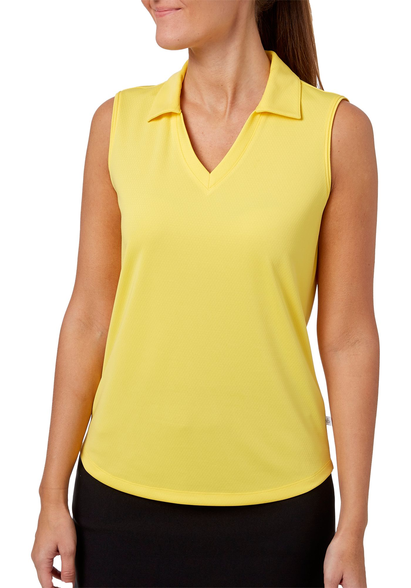 Lady Hagen Women's Essential Sleeveless Polo