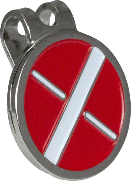 Maxfli Metal Ball Markers and Hat Clip