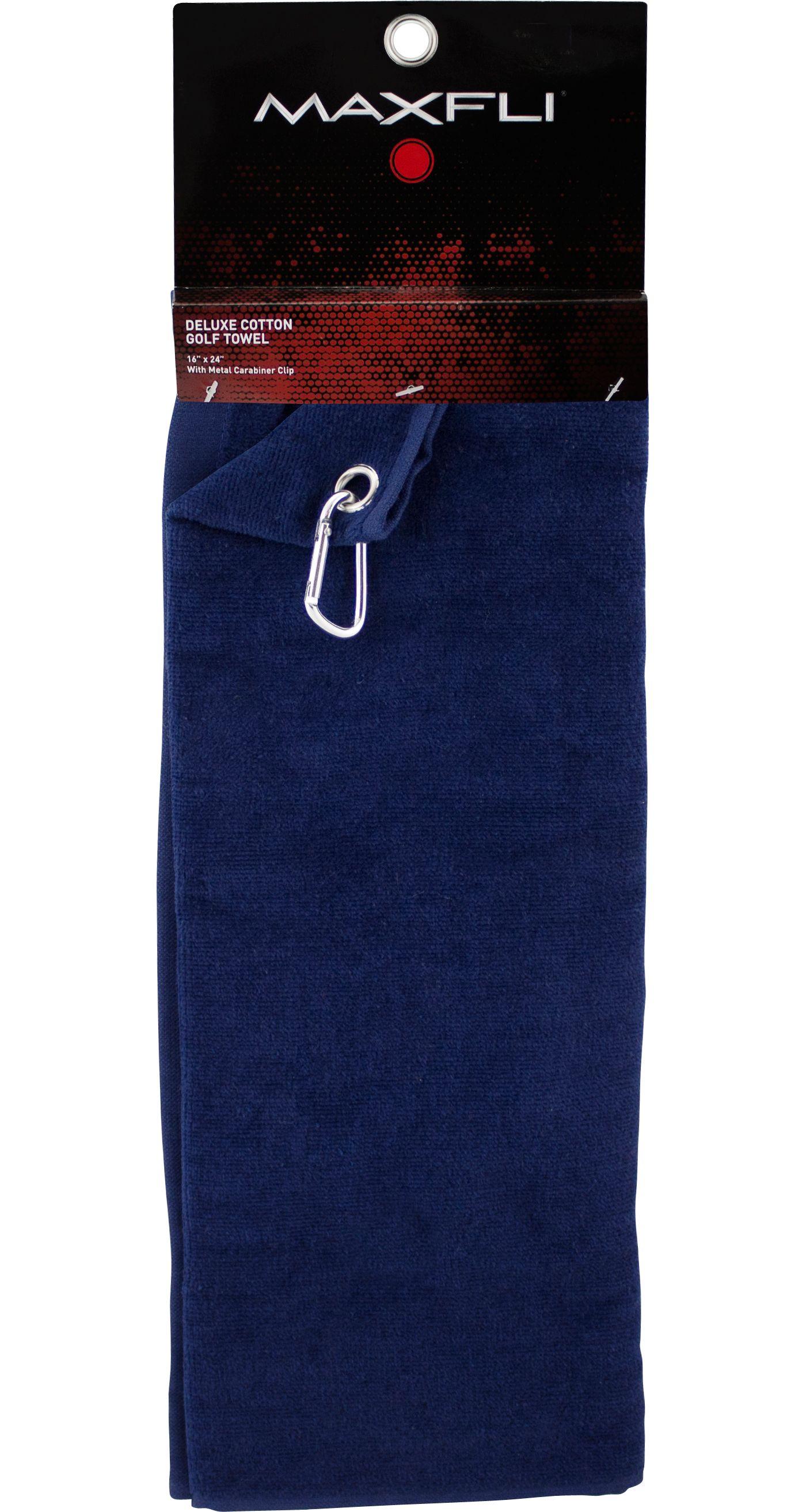 Maxfli Deluxe Cotton Towel