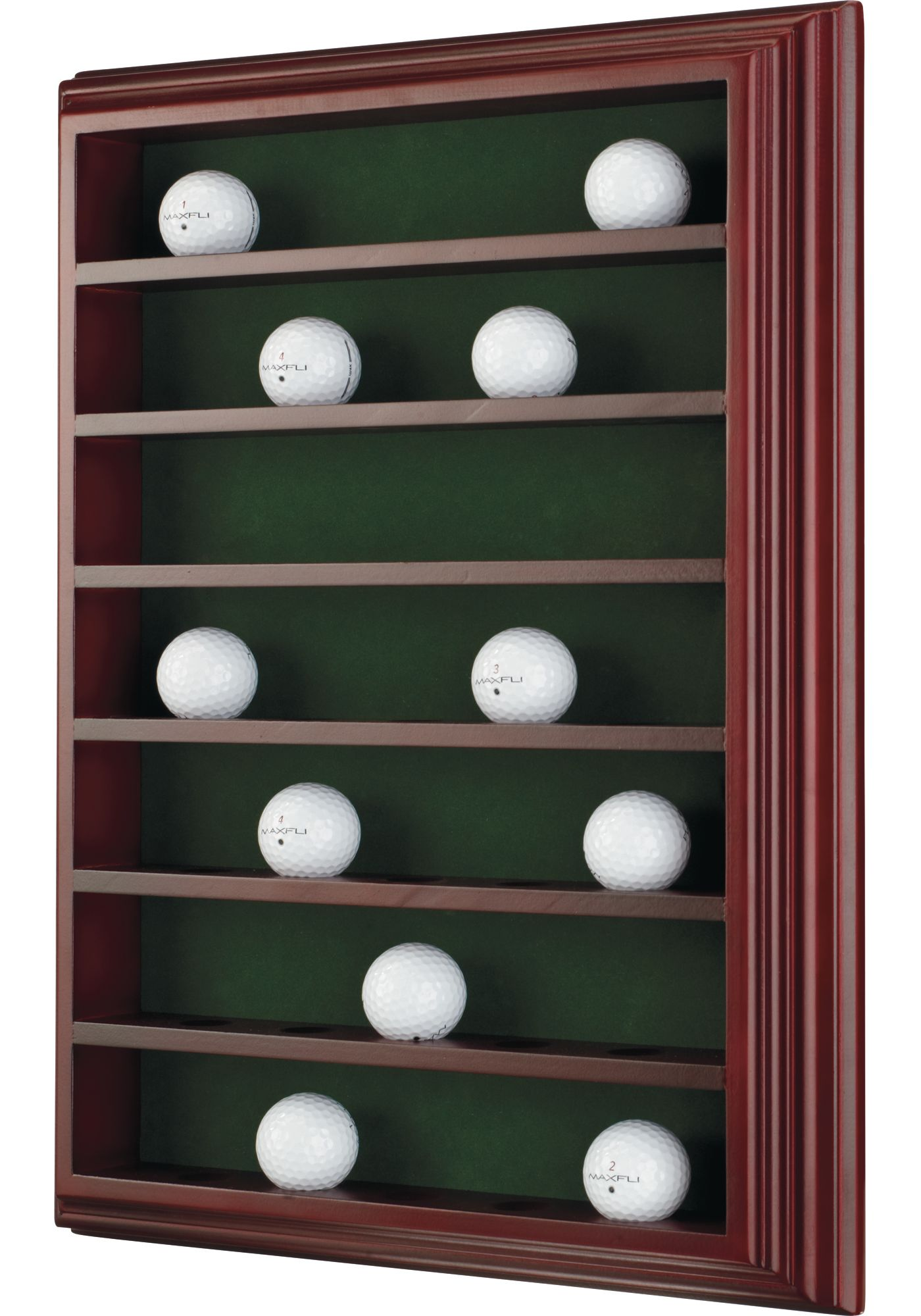 Maxfli Mahogany 35 Ball Cabinet