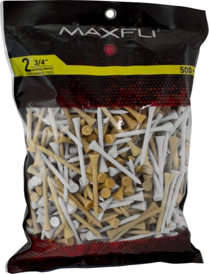 Maxfli 2 3/4'' Assorted Golf Tees - 500 Pack