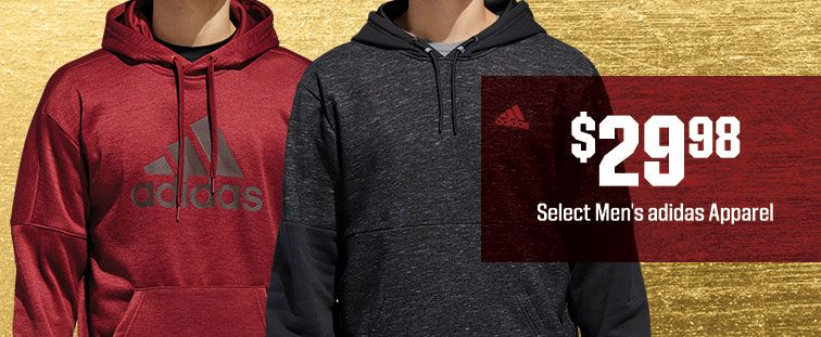 $29.98 - Select Men's adidas Apparel