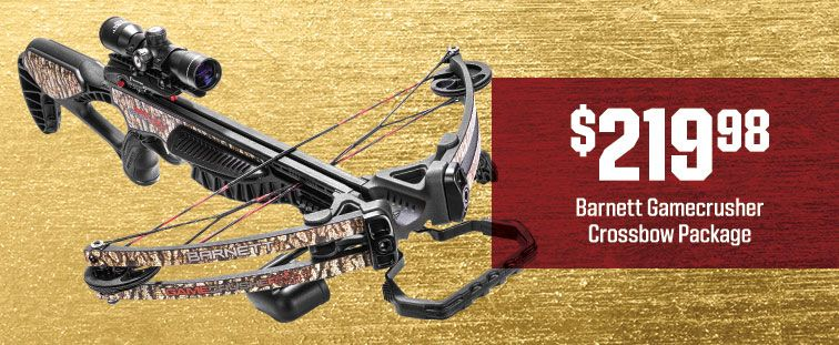 $219.98 - Barnett Gamecrusher Crossbow