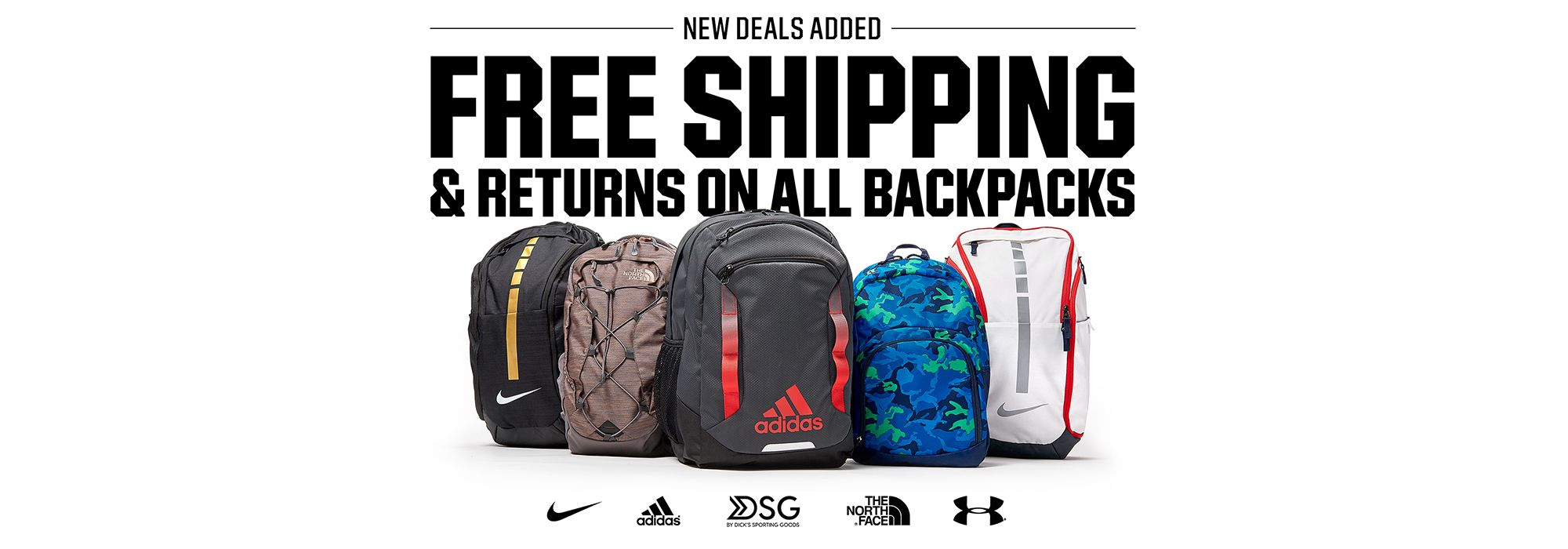 New Deals Added! Free Shipping & Returns on all Backpacks
