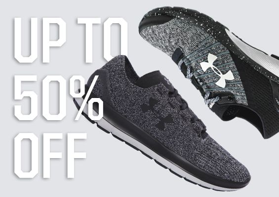 50% Off - Select Under Armour Footwear