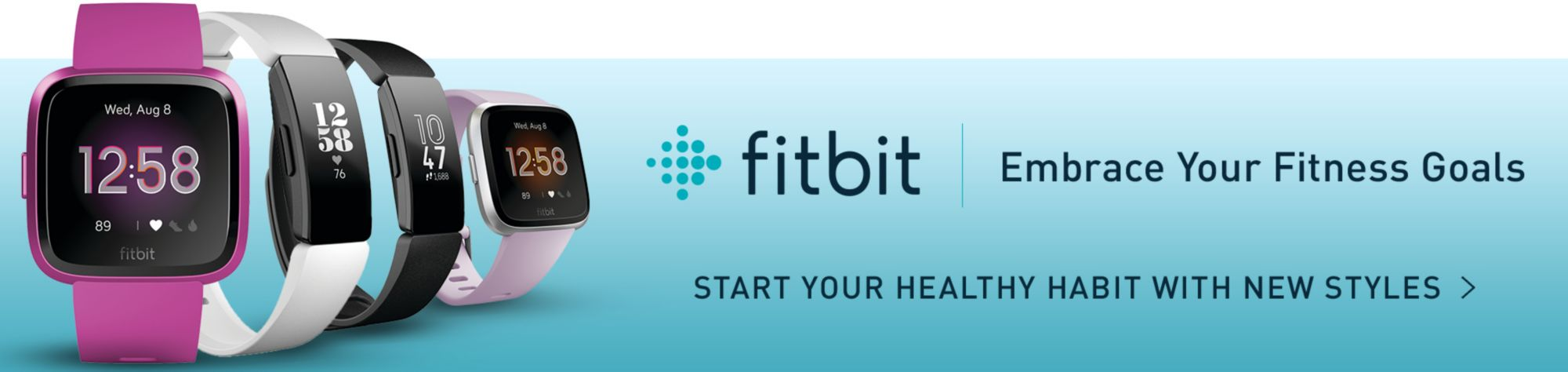 Fitbit Embrace Your Fitness Goals