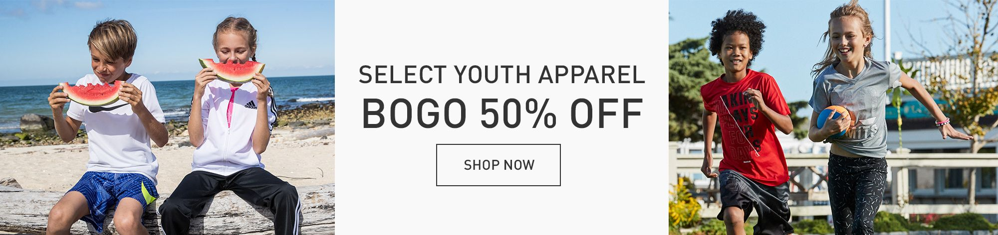 BOGO 50% OFF Select Youth Apparel