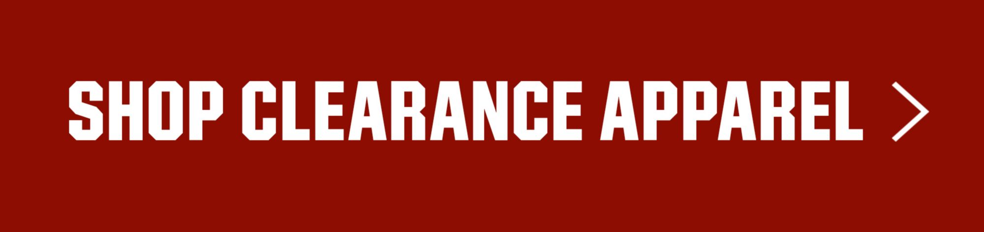 Shop Clearance Apparel