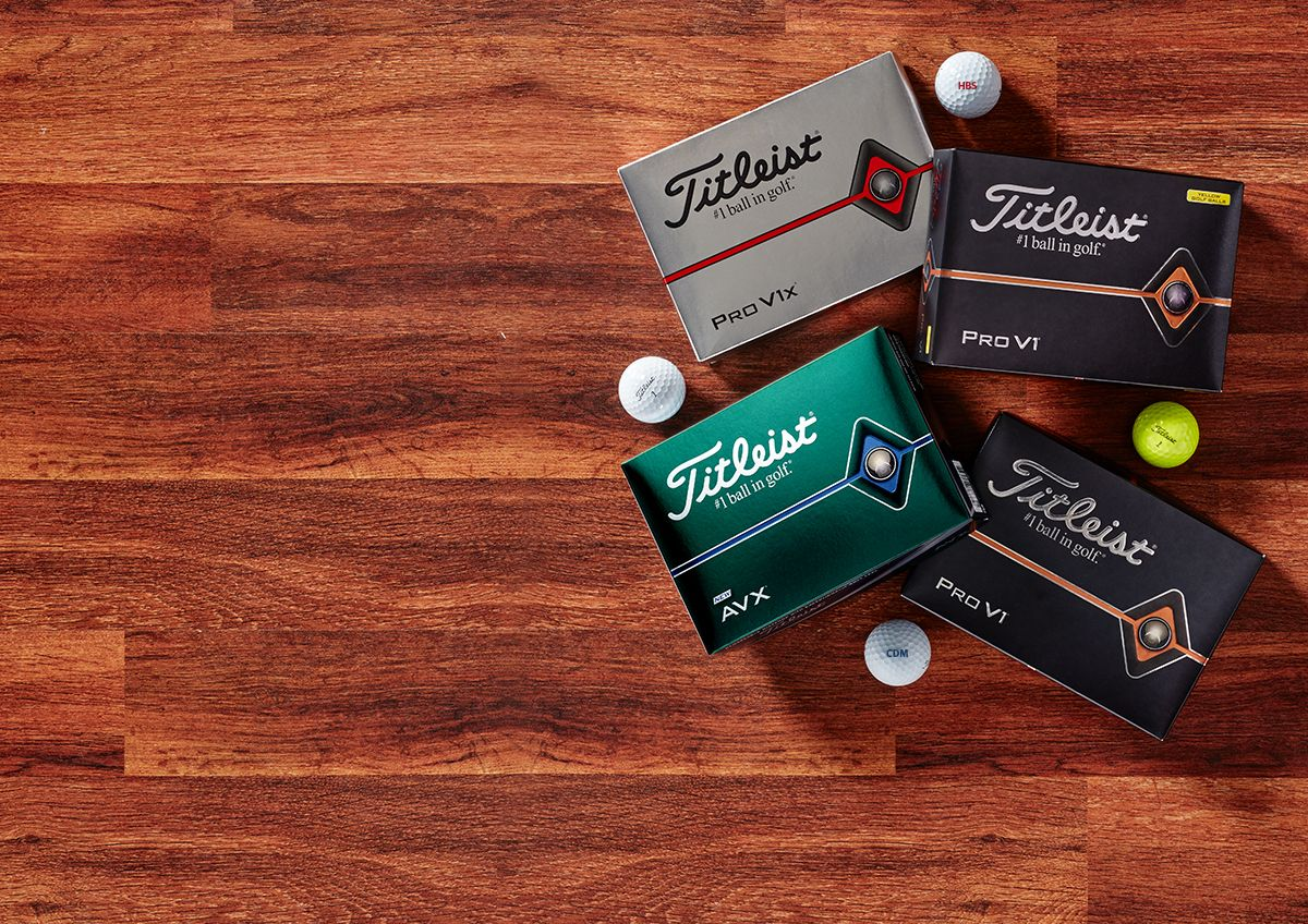 Titleist Pro V1, Pro V1x And AVX Golf Balls