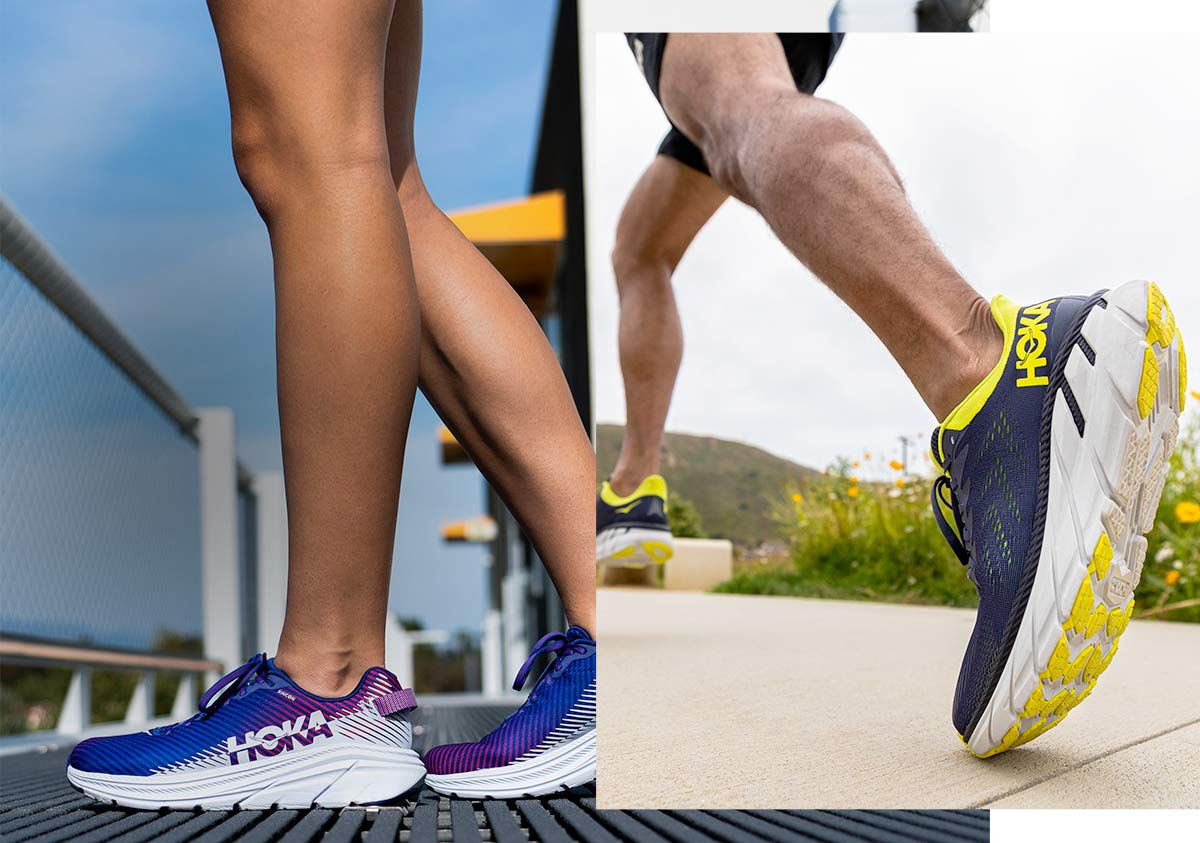 Image featuring the latest shoes from hoka one one