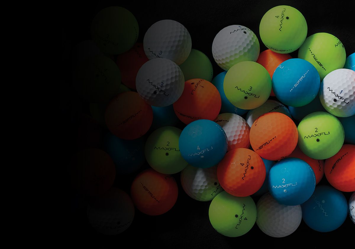 SoftFli Matte Golf Balls.