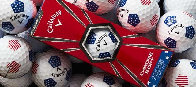 Let Freedom Fly | Callaway Chrome Soft Truvis Stars & Stripes